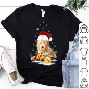 Awesome Labradoodle Christmas Dog Light shirt