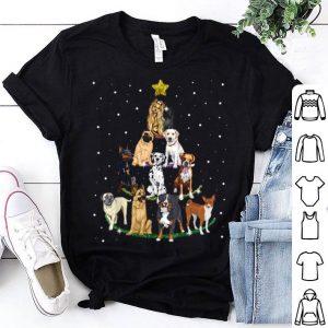 Beautiful Dog Lover Christmas Tree sweater