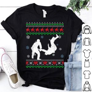 Beautiful Judo Awesome Ugly Christmas Sweater Xmas Gift shirt
