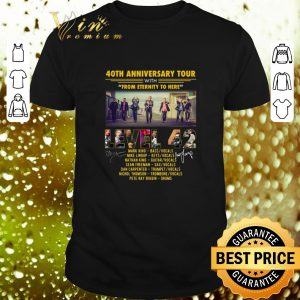 Cheap 40th anniversary tour with from eternity to here Level 42 shirt