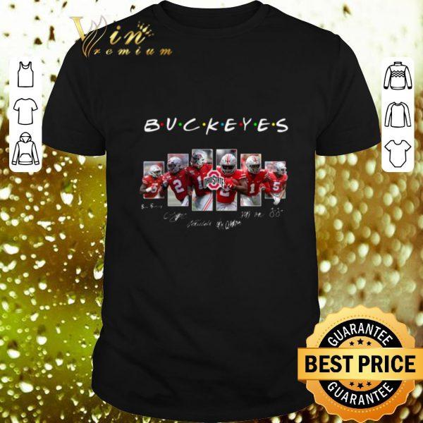 Cheap Friends Ohio State Buckeyes Signatures shirt