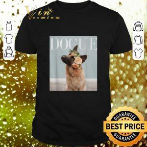 Cheap German Shepherd Dogue Vogue shirt
