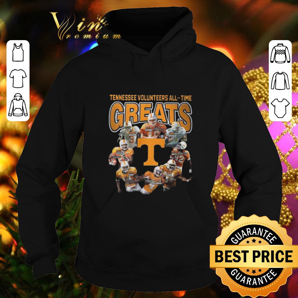 Cheap Tennessee Volunteers all time greats signatures shirt 4 - Cheap Tennessee Volunteers all-time greats signatures shirt