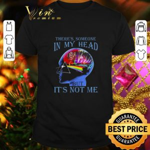 Funny Pink Floyd there's someone in my head but it's not me shirt