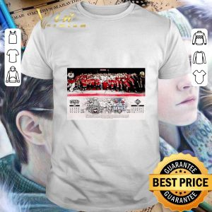 Funny We Are The Champions Stanley Cup World Series Washington Nationals shirt