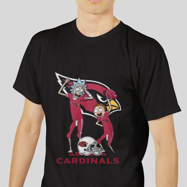 Hot Arizona Cardinals Rick and Morty shirt