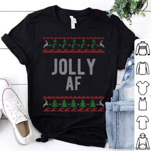 Hot Cool Jolly Ugly Christmas Sweater Style Funny shirt