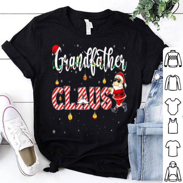 Hot Cute Christmas Grandfather Santa Hat Gift Matching Family sweater