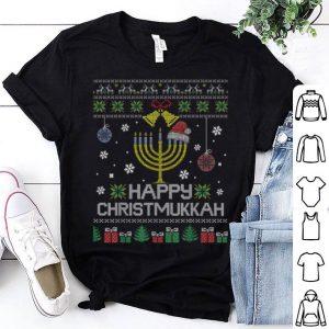 Hot Happy Chrismukkah Humor Hanukkah Ugly Christmas Sweater shirt