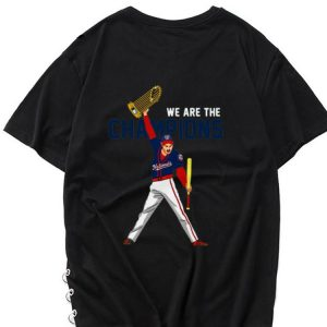 Hot We Are The Champions Washington Nationals Freddie Mercury shirt