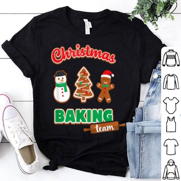 Nice Christmas Baking Team Funny Xmas Cookies Matching sweater