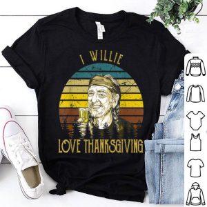 Original Love Thanksgiving Gift Retro Willie Tee Nelson For Men Women shirt