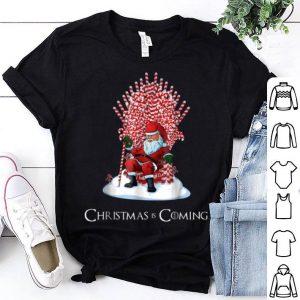 Original Santa Candy Cane Throne Funny Christmas shirt
