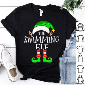 Original Swimming Elf Group Matching Family Christmas Gift Funny shirt