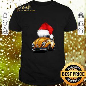 Premium Beetle Car Santa Christmas shirt