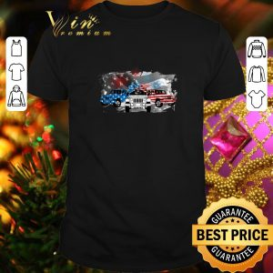 Premium Fireworks Jeep 4th of July independence day American flag shirt