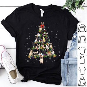 Premium Frenchie Noel Xmas Tree Cool Christmas Dog Love Gift Tee sweater