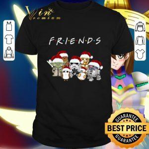 Premium Friends Star Wars Cartoon Character Christmas shirt
