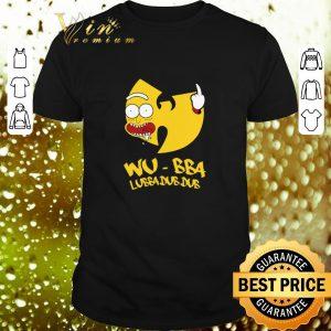 Premium Rick Sanchez Wu-Tang Clan Wu-Bba Lubba Dub Dub shirt