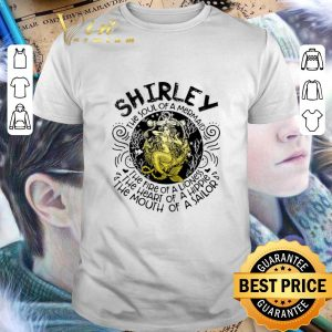 Premium Shirley the soul of a mermaid the fire of a lioness hippie sailor shirt