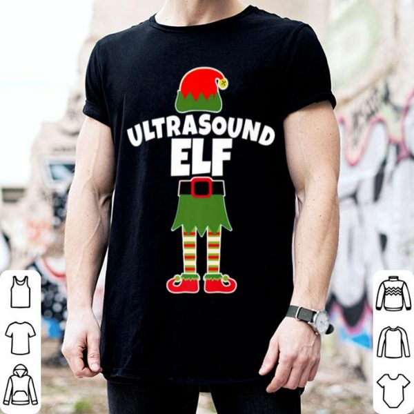 Top ULTRASOUND ELF Christmas Sonographer Sonography Tech sweater