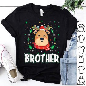 Awesome Cute Brother Reindeer Santa Ugly Christmas Family Matching sweater