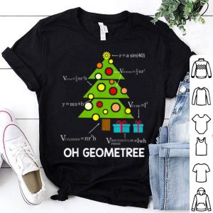 Awesome Math Geometry Christmas Tree Geometree Math Teacher Gift sweater