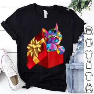 Beautiful Cute Cat Gift for kitten lovers Funny Cat Christmas Gifts sweater