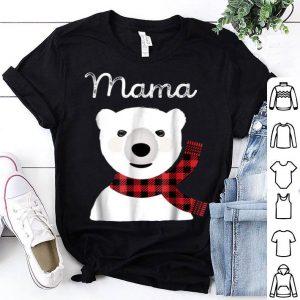Beautiful Family Matching Christmas Buffalo Plaid Mama Bear Gift sweater