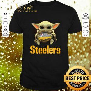 Cheap Baby Yoda Pittsburgh Steelers NFL ball Star Wars shirt