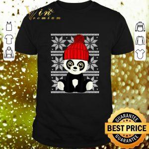 Cheap Panda Santa Ugly Christmas shirt