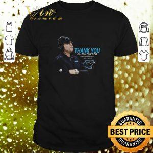 Cheap Thank You Coach Ron Rivera Carolina Panthers 2011 2019 shirt