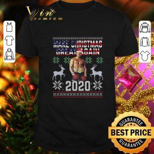 Cheap Trump boxing make Christmas great again 2020 ugly shirt