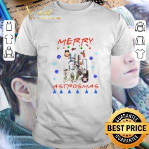 Funny Houston Astros Merry Astrosmas Christmas shirt