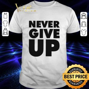Funny Never Give Up Mohamed Salah shirt