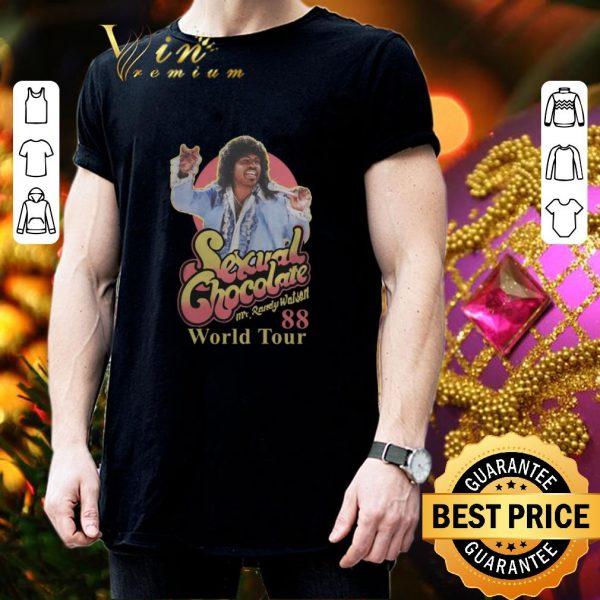 Funny Sexual Chocolate Mr Randy Watson World Tour 88 shirt