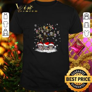 Funny Sugar skull tree Christmas shirt