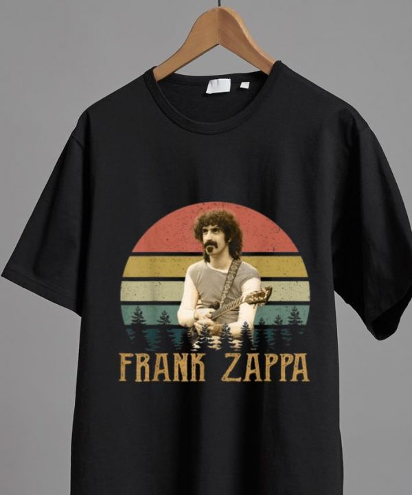 Hot Vintage Frank Zappa Country Music Legends Never Die shirt