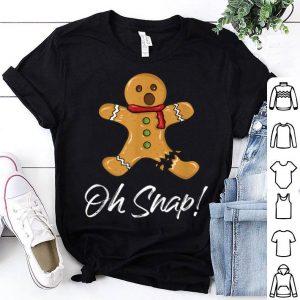 Nice Gingerbread Man Oh Snap! - Cartoon Funny Christmas sweater