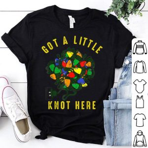 Nice Got a little Knot Christmas Lights Funny sweater