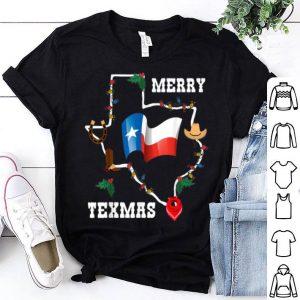 Nice Merry Texmas Texas Flag Christmas Xmas Family Holidays Gift sweater