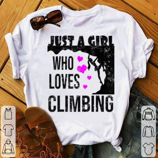 Nice Rock Climbing Funny Climber Christmas Gifts for Girls sweater