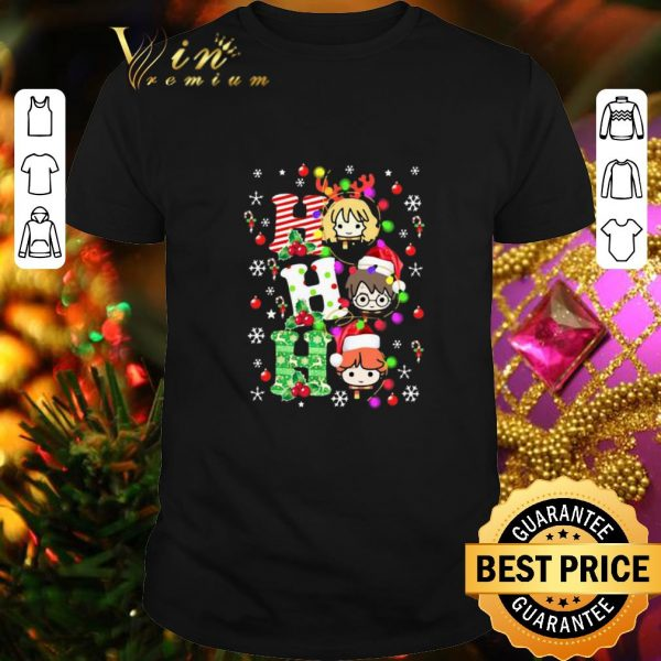 Premium Harry Potter Ho Ho Ho Christmas Light shirt