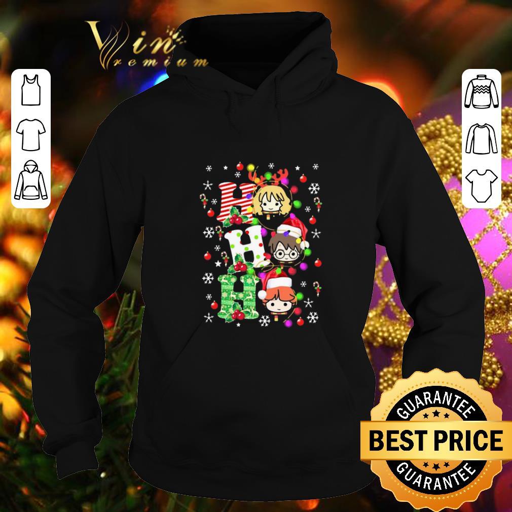 Premium Harry Potter Ho Ho Ho Christmas Light shirt 4 - Premium Harry Potter Ho Ho Ho Christmas Light shirt
