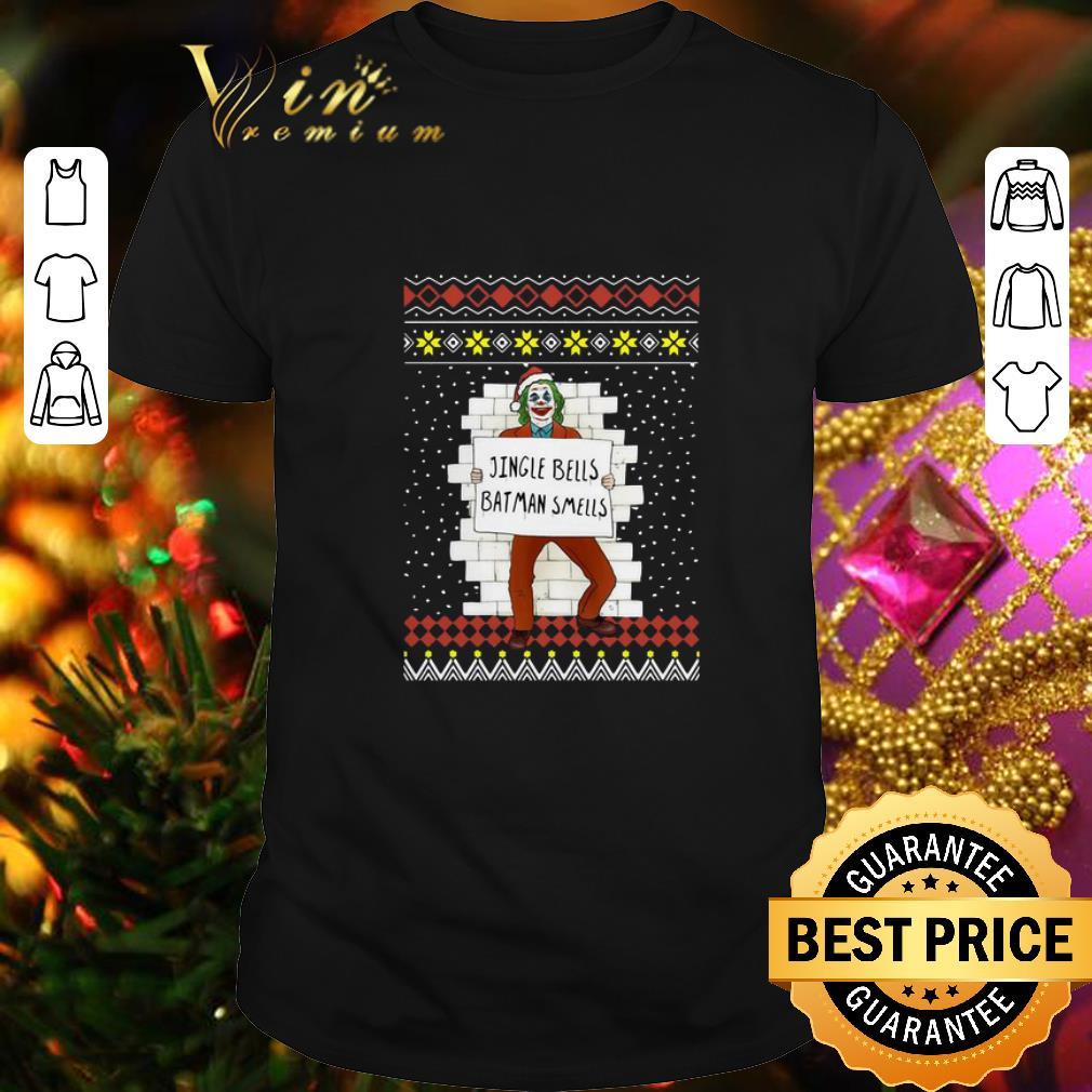 Premium Joker Jingle Bells Batman Smells Ugly Christmas sweater