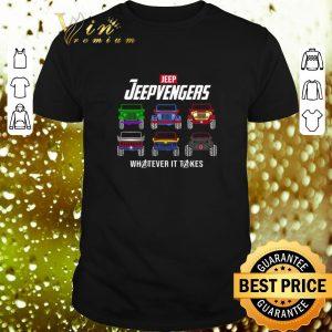 Premium Marvel Avengers Endgame Jeep Jeepvengers whatever it takes Avengers shirt