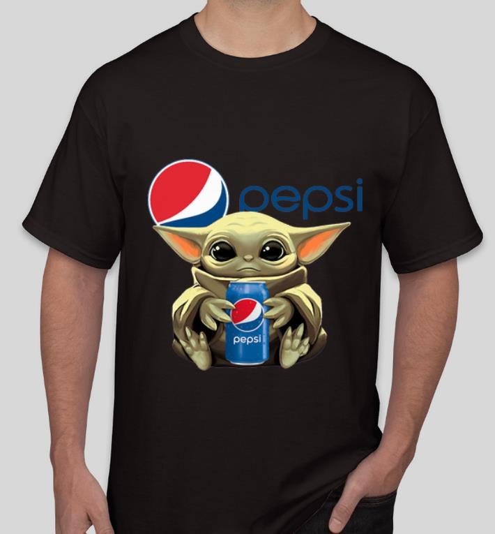 Premium Star Wars Baby Yoda Hug Pepsi shirt 4 - Premium Star Wars Baby Yoda Hug Pepsi shirt
