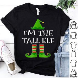 Pretty I'm The Tall Elf Matching Family Group Christmas sweater