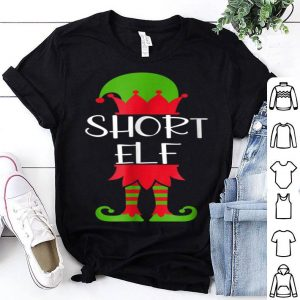 Pretty Short Elf Matching Family Group Christmas Funny Tee sweater