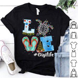 Top Christmas LOVE Gigi Turtle Women Xmas Pajama Gifts sweater
